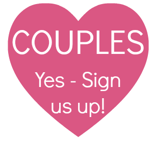Pink Sign up button couples