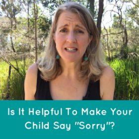 "Is It Helpful Making Your Child Say ""Sorry""?"