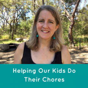 Helping Kids Do Their Chores