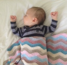 Helping your baby sleep during the night